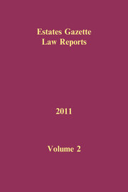 EGLR 2011 Volume 2