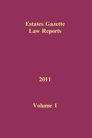 EGLR 2011 Volume 1