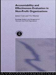 Accountability and Effectiveness Evaluation in Nonprofit Organizations