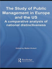 The Study of Public Management in Europe and the US: A Compearative Analysis of National Distinctiveness