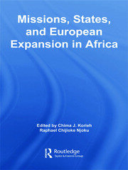 Missions, States, and European Expansion in Africa