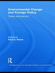 Environmental foreign policy: Towards a conceptual framework
