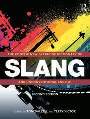 CONCISE PARTRIDGE DICT SLANG - 1st Edition book cover