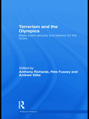 Terrorism and the Olympics - Richards RPD - 1st Edition book cover