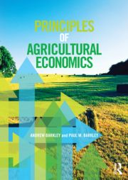 Principles of Agricultural Economics: Barkley - 1st Edition book cover