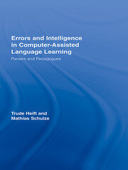 Errors and Intelligence in Computer-Assisted Language Learning: Parsers and Pedagogues