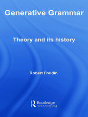Generative Grammar: Theory and its History