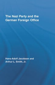The Nazi Party and the German Foreign Office