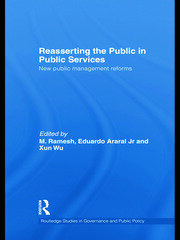 Reasserting the Public in Public Services: New Public Management Reforms