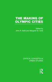 Gold & Gold: The Making of Olympic Cities, 4-vol. set - 1st Edition book cover