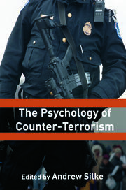 Psychology of Counter-terrorism - Silke - 1st Edition book cover
