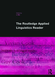 The Applied Linguistics Reader - 1st Edition book cover