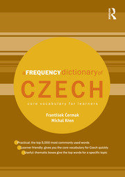 A Frequency Dictionary of Czech: Core Vocabulary for Learners