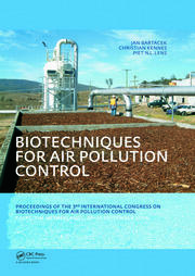 Biotechniques for Air Pollution Control: Proceedings of the 3rd International Congress on Biotechniques for Air Pollution Control. Delft, The Netherlands, September 28-30, 2009