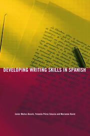 Spanish writing skills - 1st Edition book cover