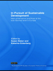 In Pursuit of Sustainable Development: New governance practices at the sub-national level in Europe