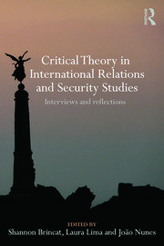 Critical Theory in Intl Relations and Security Studies - 1st Edition book cover