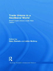 Trade Unions in a Neoliberal World: British Trade Unions under New Labour