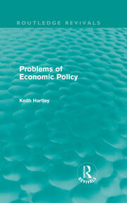 Problems of Economic Policy (Routledge Revivals)