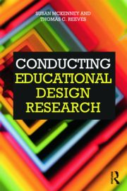 Featured Title - Conducting Educational Design Research McKenney - 1st Edition book cover