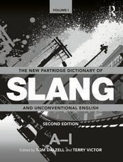 Featured Title - NEW PARTRIDGE DICT SLANG 2VOL - 1st Edition book cover