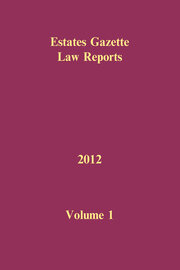 EGLR 2012 Volume 1