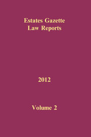 EGLR 2012 Volume 2