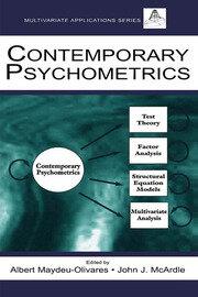 Contemporary Psychometrics