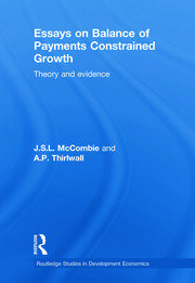 Essays on Balance of Payments Constrained Growth: Theory and Evidence