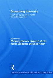 Governing Interests: Business Associations Facing Internationalism