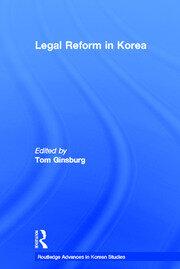 Legal Reform in Korea