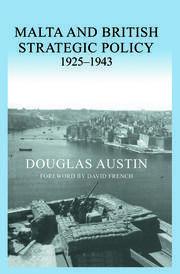 Malta and British Strategic Policy, 1925-43
