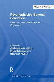 Psychophysics Beyond Sensation: Laws and Invariants of Human Cognition