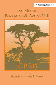 Studies in Perception and Action VIII: Thirteenth international Conference on Perception and Action