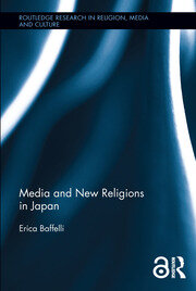 Featured Title - Media and New Religions in Japan: Baffelli - 1st Edition book cover