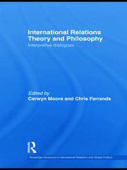International Relations Theory and Philosophy