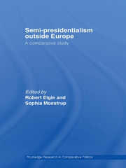 Semi-Presidentialism Outside Europe: A Comparative Study