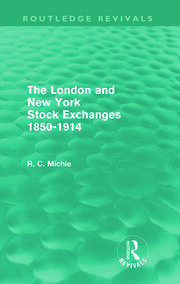 The New York Stock Exchange and the Securities Market II