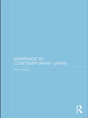 Marriage in Contemporary Japan