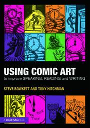 Comic Art Speaking Reading Writing Kapow Bowkett - 1st Edition book cover