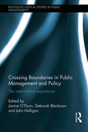 Crossing Boundaries in Public Management and Policy: The International Experience