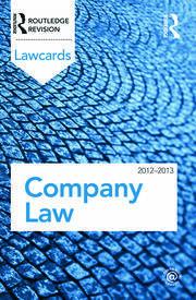 Company Lawcards 2012-2013