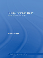 Political Reform in Japan: Leadership Looming Large