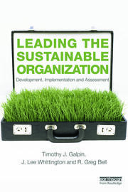 Leading the Sustainable Organization