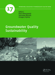 Groundwater Quality Sustainability