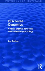Discourse Dynamics (PRev) RPD - 1st Edition book cover