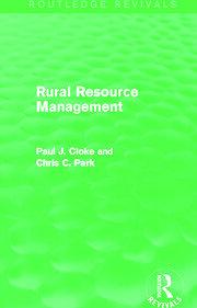 Rural Resource Management (Routledge Revivals)