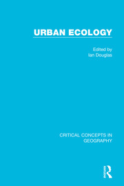 Urban Ecology, 4-vol. set