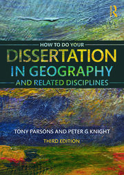 How To Do Your Dissertation in Geography - 1st Edition book cover