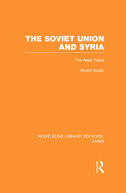 Soviet Union & Syria (RLE Syria) - 1st Edition book cover